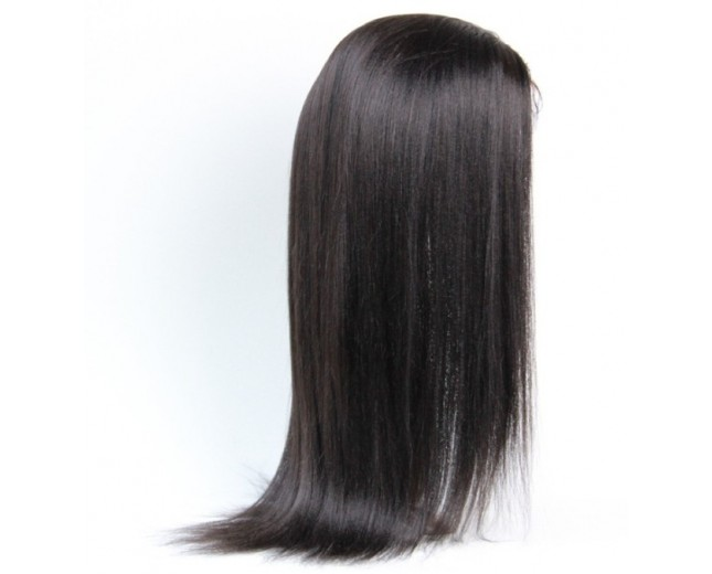 Brazilian Light Yaki Full Lace Wigs Virgin Hair FLW007