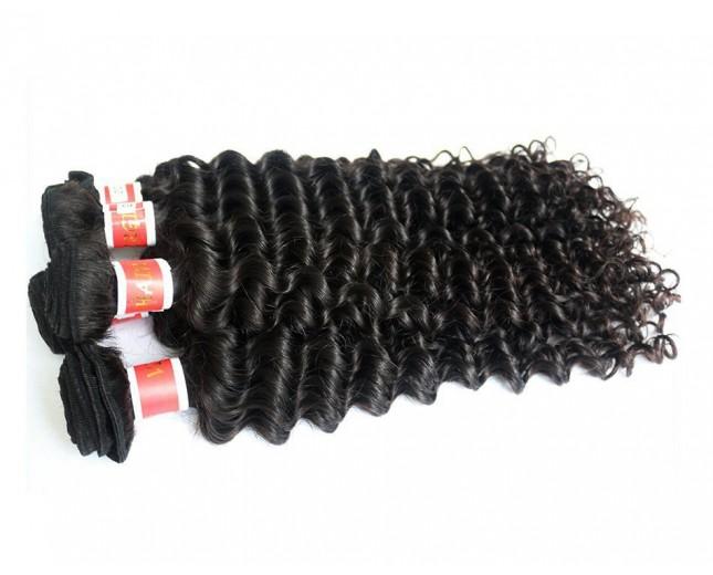 Deep Curly Virgin Peruvian Hair PV006