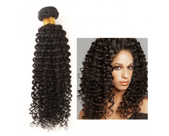 Kinky Curly Virgin Peruvian Hair Extension PV0011