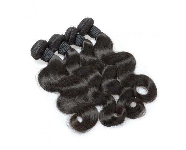 4pcs/lot Virgin Brazilian Hair Weave Bundles Body Wave BD0060