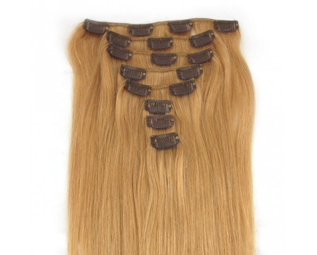 #27 15''-24'' Clip In Hair Extensions CR002