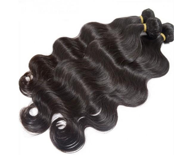 3pcs/lot Body Wave Virgin Peruvian Hair Mixed Length PD001