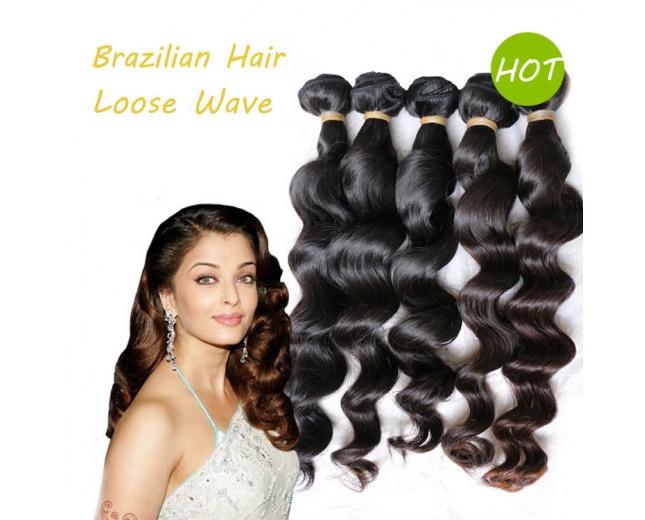 Loose Wave Brazilian Virgin Hair BV005