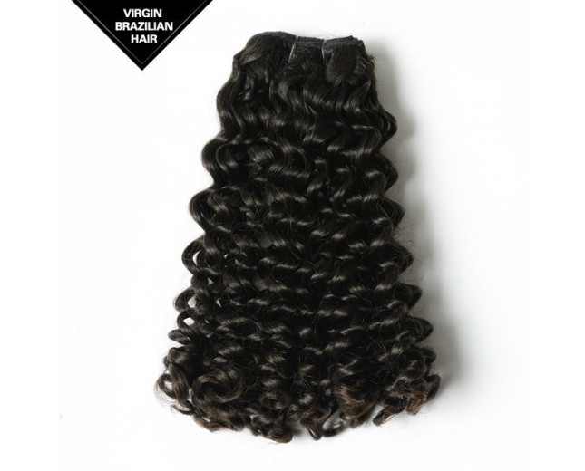 Candy Curl Double Drawn Brazilian Virgin Hair Weave BRV0018