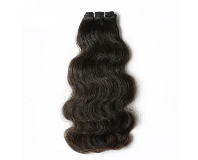 Double Drawn Brazilian Body Wave Virgin Hair Weave BRV001