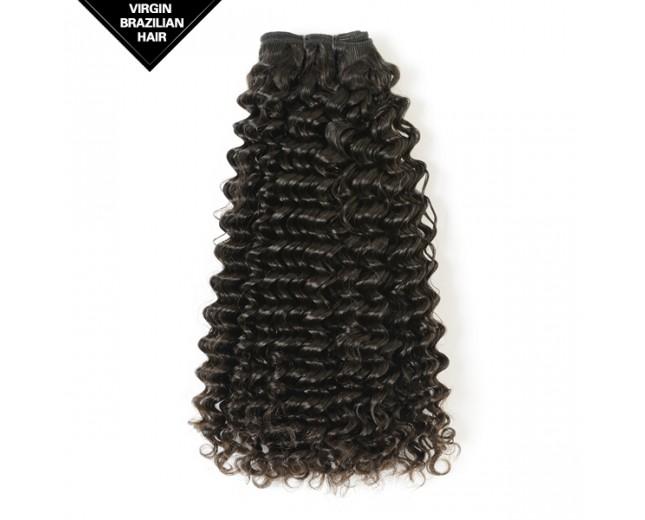 Double Drawn Deep Curly Brazilian Virgin Hair BRV0011