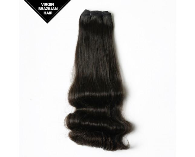 Brazilian Virgin Double Drawn Hair Half Body Wave BRV0017