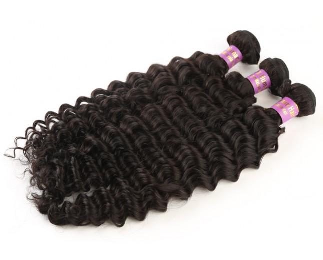 Deep Wave Curly Virgin Malaysian Hair MV002