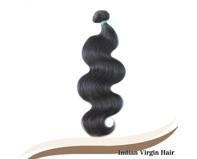 Body Wave Indian Virgin Hair 100% Human Hair Weave IV002