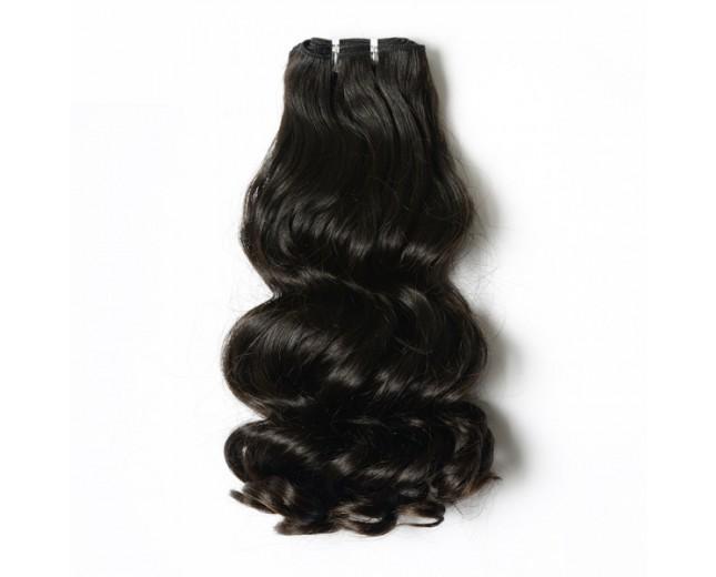 Double Drawn Loose Wave Brazilian Virgin Hair Weave BRV0025