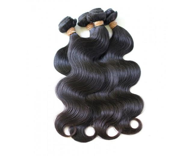 4pcs/lot Virgin Malaysian Hair Weave Bundles Body Wave MD0012