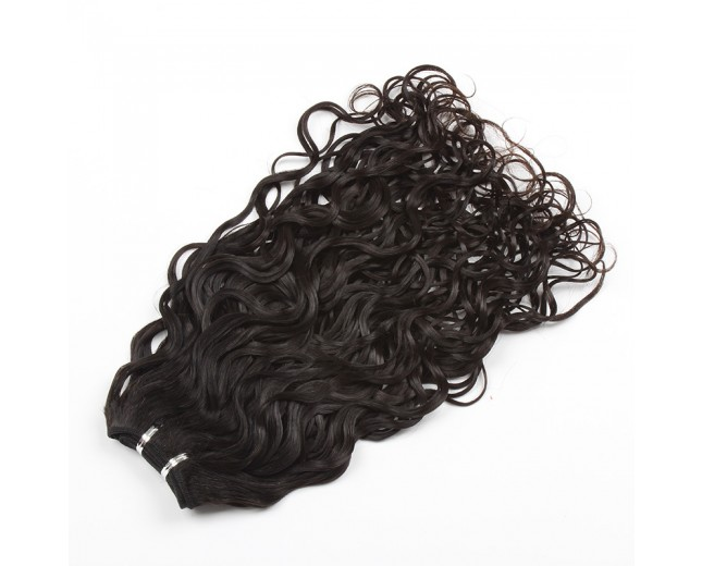 100% Cuticle Intact Natural Curly Brazilian Virgin Remy Hair Weave BRC006