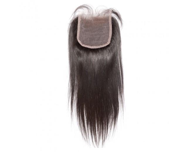 4''*4'' Straight Lace Closure Virgin Brazilian Hair LC008