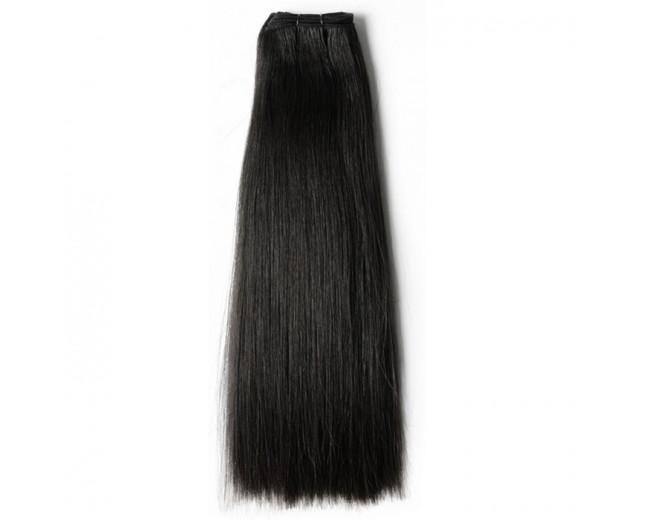 Brazilian Straight Virgin Hair Weave Double Drawn Hair Weft BRV002