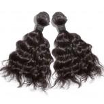 2pcs/lot Natural Wave Brazilian Virgin Hair Bundles BD0027