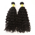 2pcs/lot Curly Brazilian Virgin Hair Bundles BD0022