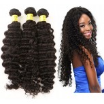 3 Bundles Deep Curly Brazilian Virgin Hair Extension BD0030