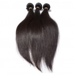 3pcs/lot Straight Virgin Malaysian Hair Weave Bundles MD005