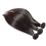 3 Bundles Brazilian Straight Virgin Hair Weave Mixed Length BD006