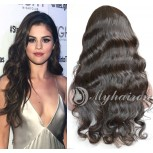 Hot Sale 100% Human Hair Body Wave Lace Front Wigs LFW0078