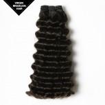 Deep Wave Brazilian Virgin Double Drawn Hair Weave BRV0010
