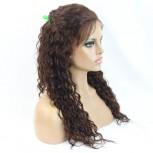 Jerry Curly Full Lace Wigs Brazilian Virgin Hair FLW0031