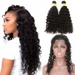 360 Lace Frontal with Bundles Brazilian Curly Virgin Hair BF0014