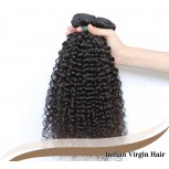 3pcs/lot Kinky Curly Indian Virgin Hair Weave Bundles ID006