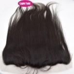 13''*4'' Light Yaki Lace Frontal Brazilian Virgin Hair LC0052