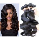 3pcs/lot Body Wave Virgin Malaysian Hair Weave Bundles MD001