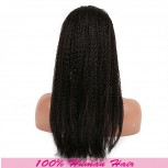 African Micro Braided Full Lace Wigs Brazilian Virgin Hair FLW0030