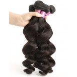 4pcs/lot Virgin Malaysian Hair Weave Bundles Loose Wave MD0014