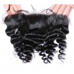 """Malaysian Lace Frontal Loose Wave 13""""*4"""" Ear to Ear Lace Closure LC0085"""
