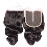 Malaysian Loose Wave Virgin Hair 4*4 inch Lace Closure LC0081