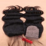 Peruvian Hair Silk Base Closure Body Wave 4''*4''  LC0024