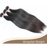 1 bundle Mongolian Straight Virgin Hair 100% Human Hair GV002