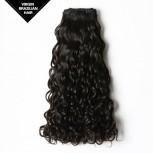 Double Drawn Water Wave Brazilian Virgin Hair Weave BRV006
