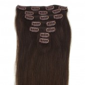 #2 Clip In Hair Extensions Straight CR0013