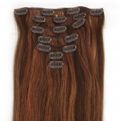 #4/30 Clip In Hair Extensions Straight CR008