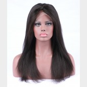 Best Quality Silky Straight Brazilian Virgin Remy Full Lace Wigs FLW0015