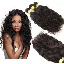 3pcs/lot Water Wave Virgin Brazilian Hair Bundles BD0011
