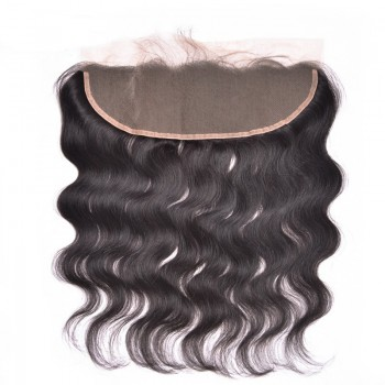 """Malaysian Lace Frontal Body Wave 13""""*4"""" Ear to Ear Lace Closure LC0084"""
