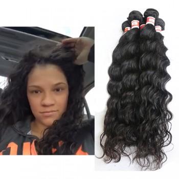 Natural Curly Virgin Peruvian Hair PV008
