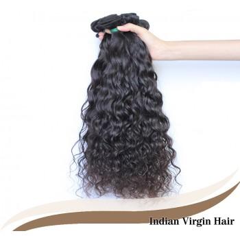 3pcs/lot Water Wave Indian Virgin Hair Weave Bundles ID007