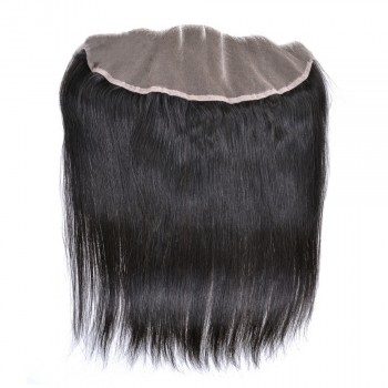 13''*4'' Straight Lace Frontal Brazilian Virgin Hair LC0045