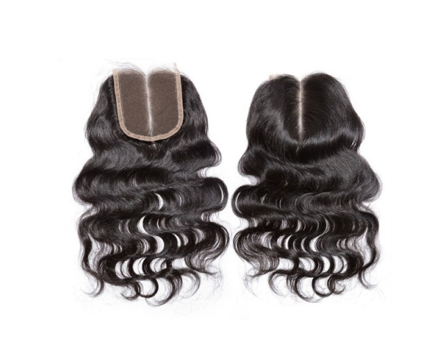 4''*4'' Body Wave Lace Closure Virgin Brazilian Hair LC0017