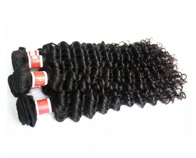 Deep Curly Virgin Peruvian Hair PV006