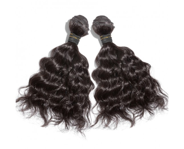 2pcs/lot Natural Wave Brazilian Virgin Hair Bundles BD0027