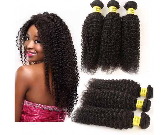 3pcs/lot Brazilian Afro Curly Virgin Hair Bundles BD0072