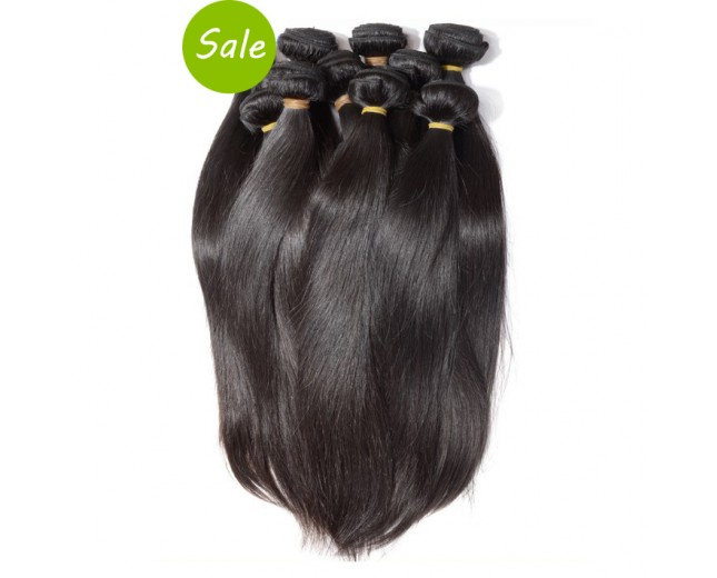 4pcs/lot Virgin Malaysian Hair Weave Bundles Straight MD0013